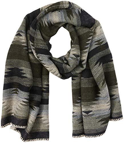 Camel Active Womenswear Damen 307450 Halstuch, Grün (Khaki Grey 36), One Size