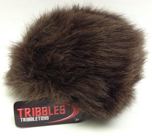 Star Trek Tribble, Dark Brown - New Dual Sound Version - Large Size by Tribble Toys