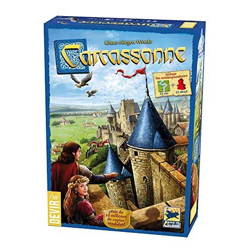 Devir 222593 - Carcassonne, juego de mes...