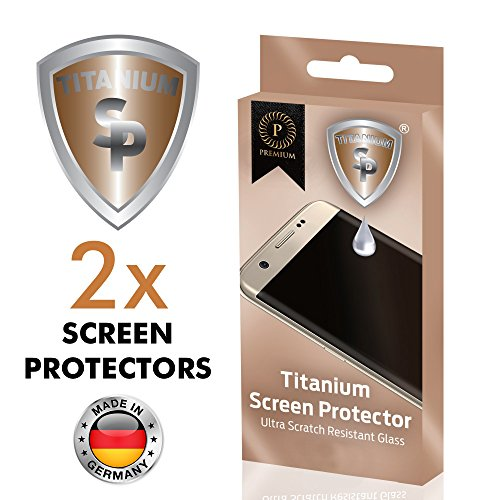 SP Titanium SP-103 Bildschirmschutz 9H, Nanopartikel, 2-er Pack, 15,24 cm (6 Zoll)