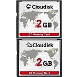 Cloudisk 2X CF-Karte Compact Flash 2 GB Speicherkarte Leistung für