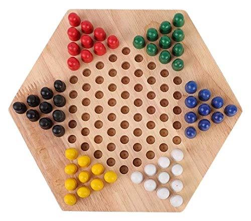 L.J.JZDY Tablero de ajedrez Tablero de ajedrez cheques Chino