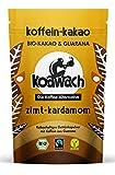 koawach Zimt+Kardamom Kakaopulver mit Koffein aus Guarana Wachmacher Kakao - Bio, vegan und Fair Trade (220g) - Neues Design