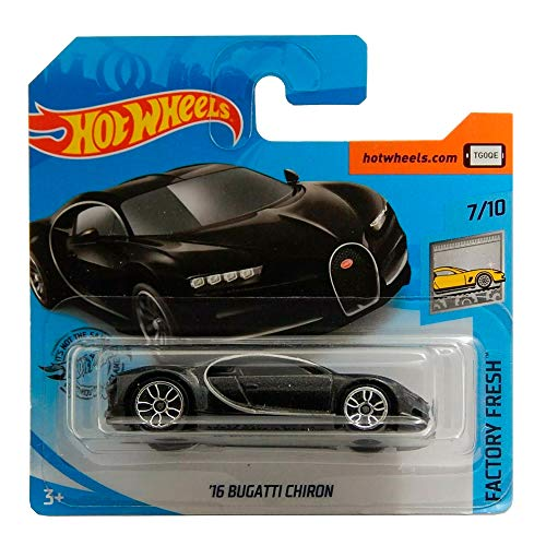 Hot Wheels '16 Bugatti Chiron Factory Fresh Series 7/10 2020 Short Card