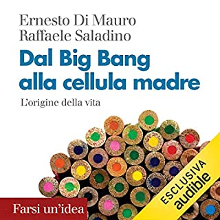 Dal Big Bang alla cellula madre. L'origine della vita copertina