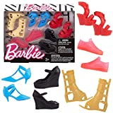 Mattel Barbie Accessories Curvy & Tall Doll Shoe Pack (Fcr93) -