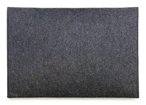『[NEXARY] MacBook Pro Retina 13 インチ, Air 13インチ, Ultrabook 13.3 インチ フェルト スリム 収納 パソコン インナーケース (13PR チャコールグレー)』の2枚目の画像