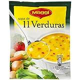 Maggi Sopa de 11 Verduras - Sopa Deshidratada - 53g (4 raciones)