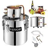 12L Water Alcohol Distiller SENREAL 3GAL Copper Wine Making Boiler Multi Home DIY Brewing Distilling...
