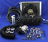CAR AIR Conditioner KIT Universal Under Dash Evaporator and AC Compressor A/C KIT 432 7B10
