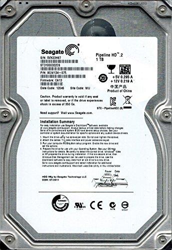 Preisvergleich Produktbild Seagate st31000322cs P / N: 9 gw134075 F / W: CA13 1 TB WU