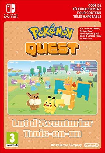 Pokémon Quest Triple Expedition Pack DLC | Switch - Version digitale/code