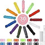 13 Colores 10 Pies Cable Paracord 550 Cuerdas de Paracord Multifunción Cuerda de Carpa Camping Cuerda de Paracaídas con Hebillas, Kits de Artesanía de Paracord Combo para Hacer Cordones, Llavero