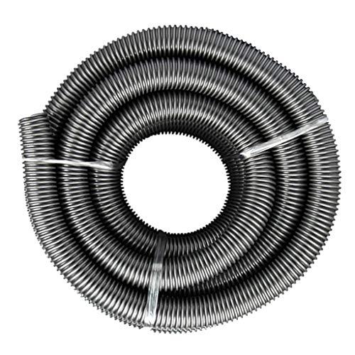 PETSOLA / 2 / M Tubo Flessibile per Aspirapolvere in Plastica Tubo Flessibile per - Nero, A- 3m Grigio 40mm