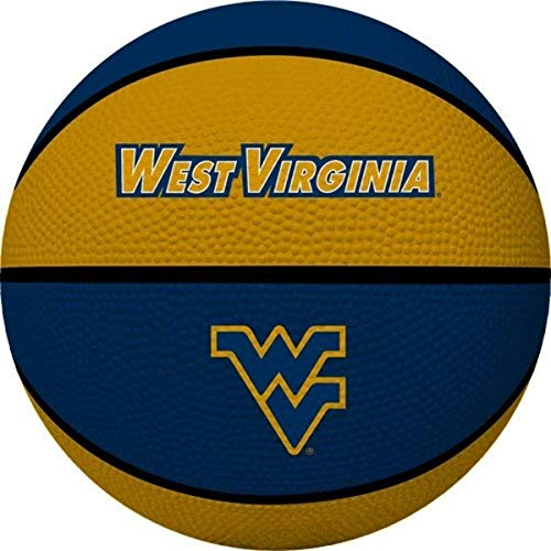 NCAA West Virginia Mountaineers Crossover Full Size Basketball by Rawlings