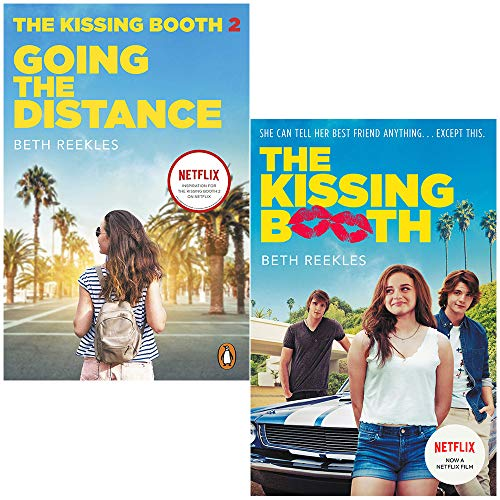 The Kissing Booth Series Collection 2 Books Set By Beth Reekles (Going the Distance, The Kissing Booth)