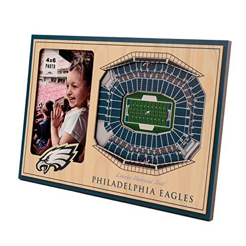 YouTheFan NFL Philadelphia Eagles 3D StadiumViews Picture Frame , 8 x 12 in