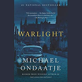 Warlight     A novel              Auteur(s):                                                                                                                                 Michael Ondaatje                               Narrateur(s):                                                                                                                                 Steve West                      Durée: 8 h et 36 min     118 évaluations     Au global 4,2