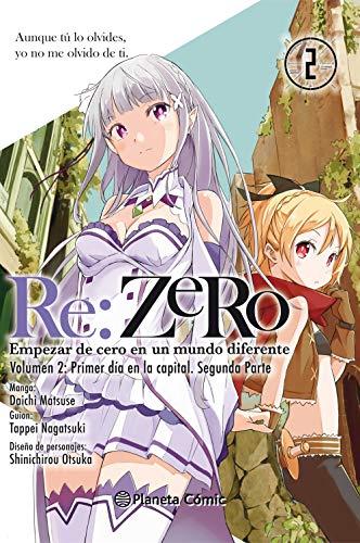 Re:Zero nº 02: Empezar de cero en un mundo diferente. Volumen 2. Primer día en la capital. Segunda parte (Manga Shonen)