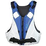 Lalizas Performance Ayuda de Flotabilidad, Unisex Adulto, Blanco/Azul, 40-70 kg