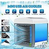 WSKL Ventilador Conveniente humidificador purifica el Aire Acondicionado del Espacio Personal Refrigeración para la Oficina en casa Mini Aire Acondicionado portátil USB, China