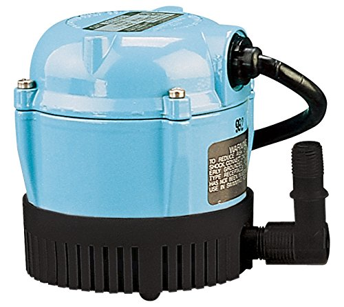 Little Giant 500203 Lubricated Pump, Permanently Oiled Direct Drive Pump, 1-A 170 GPH