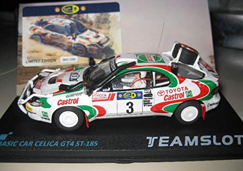 Fly SCALEXTRIC Toyota CELICA GT-4 Rally Safari 95 DE Team Slot