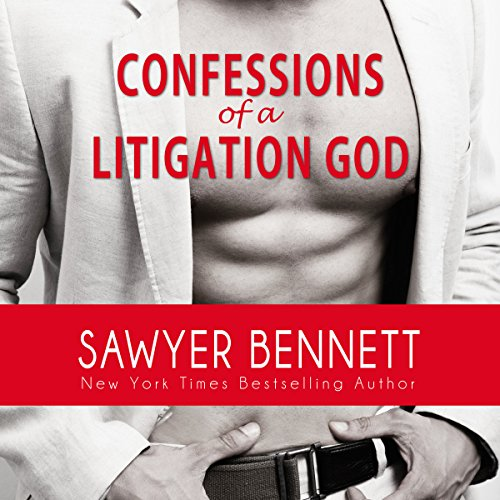 Confessions of a Litigation God: A Legal Affairs Full Length Erotic Novel audiobook cover art