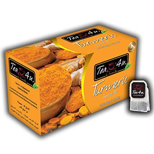 Tea4U Herbal Infusion Tea Bags - Turmeric
