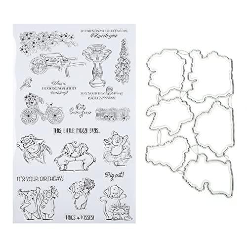 Scrapbooking-stempel, herhaalbaarheid Hand-account maken Zegel TPR-materiaal Gebruiksvriendelijk Kaarten maken Decoratie voor papierambachten of handgemaakte geschenken