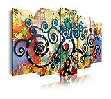 DekoArte 488 - Cuadros Modernos Impresión de Imagen Artística Digitalizada | Lienzo Decorativo Para ...