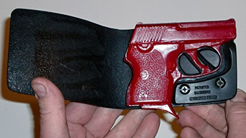 Wallet Holster for Full Concealment - NAA Guardian .32 (Black, Right Hand)