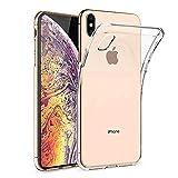 iPhone XS Handyhülle ,KKtick Transparent & Anti Gelb Schutzhülle TPU Bumper Cover,Kratzfeste Weich...