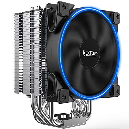 Pccooler GI-R66U CPU Cooler Slient CPU PWM Fan 120mm E-Sports,6 Heat Pipes for Intel Core i7 / i5...