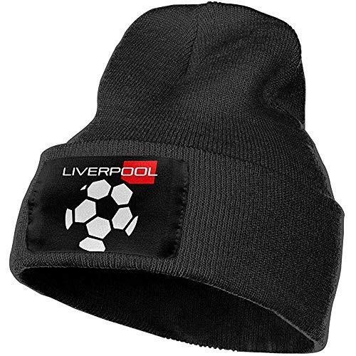 Quintion Robeson Hombres Mujeres Liverpool Gorro de Punto elástico al Aire Libre Sombrero Soft Winter Knit Caps