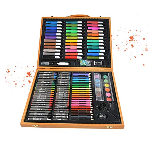 FoxSundry Juego de rotuladores de acuarela, 150 unidades, para niños, para pintura de niños, regalo