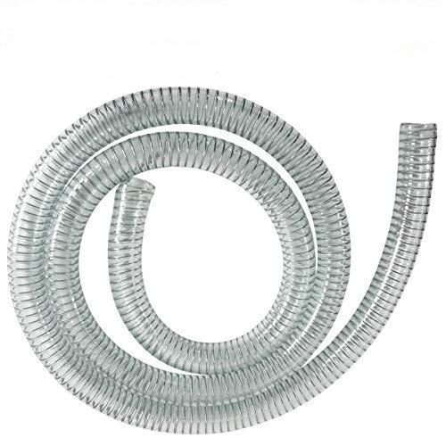 AMUR Dieselschlauch, Benzinschlauch für Ölpumpe, Ölschlauch, Spiralschlauch Saug-/Druckschlauch für Diesel Pumpe Heizöl Pumpe Wasserpumpe (Spiralschlauch 1 Zoll - 10m)