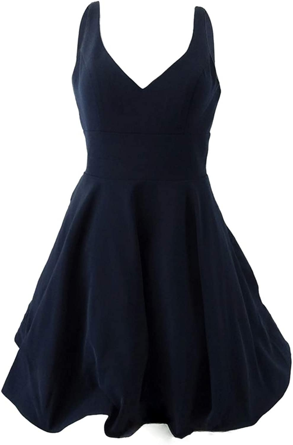 Xscape Womens DoubleV Fit & Flare Party Dress