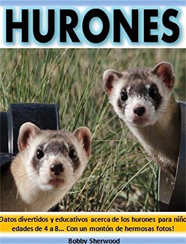 Hurones: Datos divertidos y educativos acerca de los hurones para niños edades de 4 a 8... Con un montón de hermosas fotos!