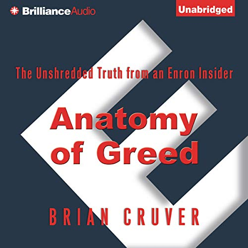 Couverture de Anatomy of Greed