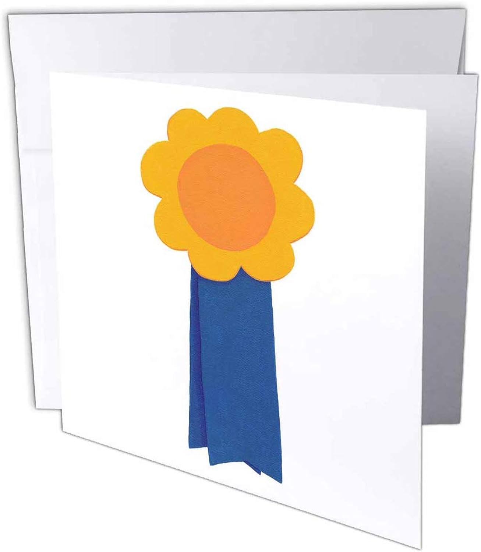 3dRosa gc_14324_1 Glückwunschkarte Blau Ribbon Award , 15,2 x x x 15,2 cm, 6 Stück B07B3WY91F | Ausgezeichneter Wert  ba4b4c