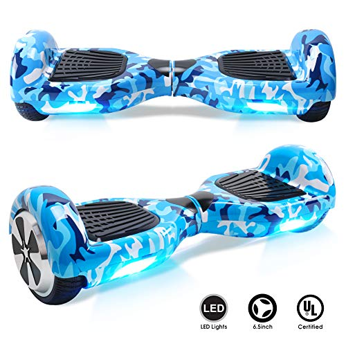 BEBK Overboard 6.5 Pouces Hoverboard Bluetooth,...
