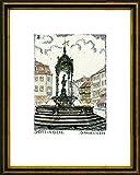 Kunstverlag Christoph Falk Handkolorierte Radierung