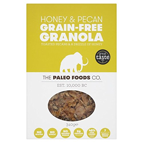 The Paleo Foods Co Honey & Pecan Grain-Free Granola 340g