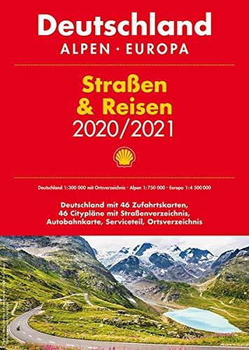 Shell Straßen & Reisen 2020/2021 1:300.000: Deutschland, Alpen, Europa (Shell Atlanten)