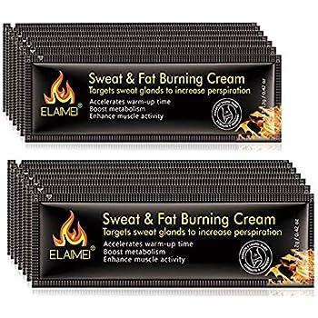 Hot Cream (10 pack), Slim Cream Portable Workout Enhancer Sweat Slim Cream, Fat Burning Cream for Women and Men for Weight Loss