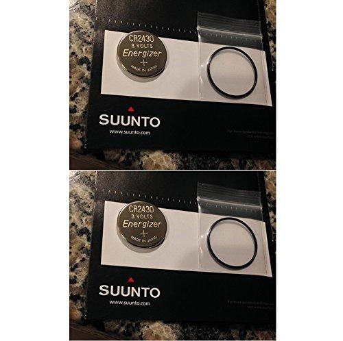 Lotto di 2 Kit Suunto Vector, Advizor, Atimax e Yachtsman computer da polso batteria
