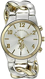 U.S. Polo Assn. Women's USC40173 Analog Display Two-Tone Watch