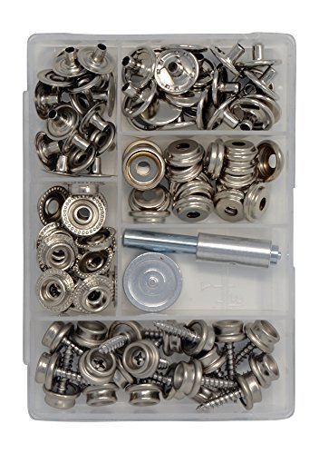 Canvas and Upholstery Boat Cover Snap Button Fastener Kit...