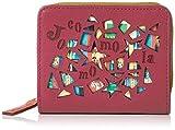 [ホコモモラ] 財布 「マヒア」外ラウンドファスナー付折財布 5381300 ピンク